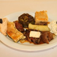 Mixed Greek plate